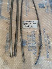 MODANATURE ALFA ROMEO ALFETTA 2000 BERLINA  VETRO LUNOTTO POSTERIORE KIT