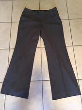 Banana Republic Jackson Fit Grey Birdseye Career Dress Pants Size 8 Stretch