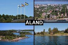 SOUVENIR FRIDGE MAGNET of ÅLAND ALAND ISLANDS SWEDEN FINLAND