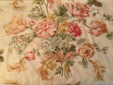 Ralph Lauren Sussex Garden King Pillow Cases Pair (2) VGUC