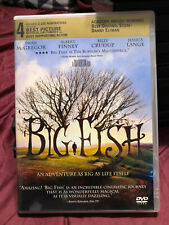Big Fish (Dvd, 2004) - A Tim Burton Film - Ewan McGregor