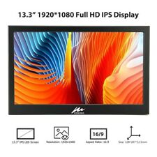 13.3 Inch 1080P IPS Portable Monitor 2xHDMI USB Powered Display 1080x1920 60Hz