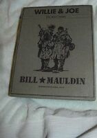 NJ-008 - Willie & Joe WWII Years, Bill Mauldin, 2 Volumes 2008 with Silp Cover
