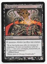 EDICTO CRUEL FOIL Español Magic Cruel Edict 9th Edition NM MTG