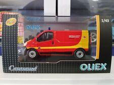 Renault Trafic Sécurité Civile 1/43 Cararama