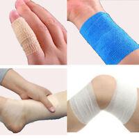 Self-adhesive Tape Elastic Bandage Gauze Medical First Aid Wrap Outdoor Sport FA