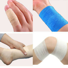 Self-adhesive Elastic Pets Wrap Bandage Vet First Aid Body Gauze Tape Stretch Du