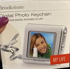 Brookstone Digital Key Chain New