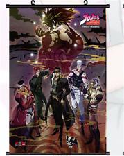 Hot Jojo's Bizarre Adventure Group Wall Scroll Poster Anime Manga  40*60cm