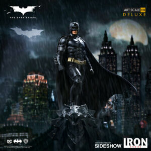 Iron Studios DC Comics Batman The Dark Knight Batman Deluxe Art Scale Statue New