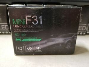 MINI F31 9006/HB4 LED CSP Headlight CAR Foglight White Bulbs