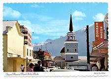 Original Russian Church Sitka Alaska Postcard Sitka St Michael's Cathedral
