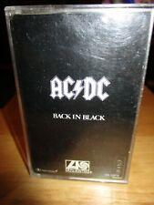 AC/DC - Back In Black - Cassette Tape - Tested - 1980