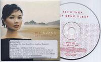 BIC RUNGA Get Some Sleep 2003 UK 1-track promo CD XPCD2895