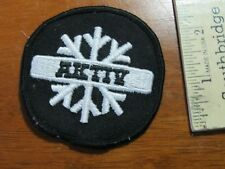 AKITTY ADVERTISEMENT SEW ON PATCH  BX L 3