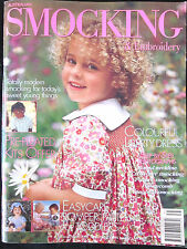 ~AUSTRALIAN SMOCKING & EMBROIDERY Magazine Issue 35 - 1996 - COMPLETE - VGC~