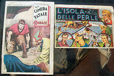 1942 ALBO AUDACE n° 393; ALBO 'CARTONI ANIMATI Anno II n° 81 L'ISOLA DELLE PERLE