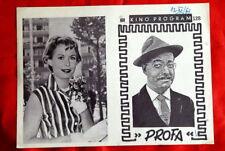 PAUKER PETER KRAUS GERT FROBE 1956 EXYU MOVIE PROGRAM