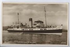 """(Q95) Real Photo of T. S. """"Marchioness Of Graham""""   - Unused"""