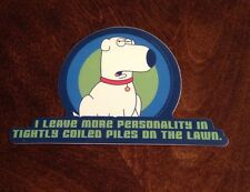 Family Guy Brian The Dog sticker