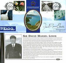 7 MARCH 2000 WATER AND COAST BENHAM BLCS176 SIGNED BY DAVID MANSEL LEWIS FDC SHS