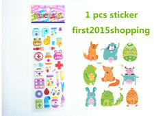 2018 Cartoon Stickers Doll Craft Bear 1pc Kid Party Scarpbooking Toy Fancy Gifts