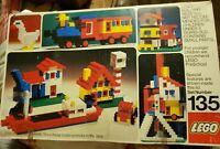 Vintage 1974 Lego 135 Building System Set Complete
