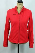 Women's ROSSIGNOL Full Zip Fleece Size Medium Jacket Ski Snowboard Zip Pockets
