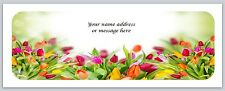 30 Personalized Return Address Labels Flower Buy 3 get 1 free (bo 570)