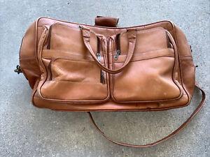 Mens Genuine Vintage Leather Satchel Messenger Man Sholder Laptop Briefcase Bag