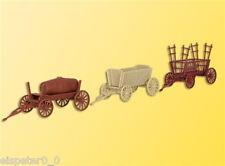 H0 Landwirtschaftiche Hänger Oldies, Modellwelten Bausatz 1:87, Kibri 15703