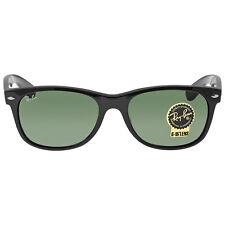Ray-Ban New Wayfarer Black 55mm Sunglasses RB2132-901L-55