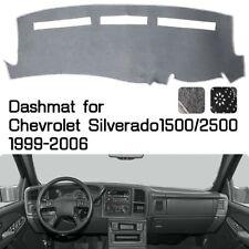Grey Dashmat Dashboard Cover Dash Mat Anti-Slip for 2000 -2006 CHEVROLET TAHOE