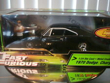 Fast and Furious Dodge Charger Doms figure diorama