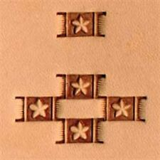 X596 Craftool Basketweave Stamp Tandy Leather 6596-00