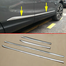 For Nissan Rogue Sport Qashqai J11 Chrome Door Body Strips Molding Accessories