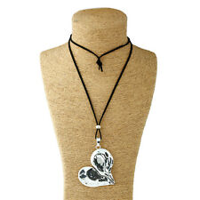 Long Chian Necklace Woman Jewelry Lagenlook Love Heart Charms Pendant on