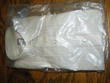 Boys Blue Karman Striped Brown Vintage Shirt Size 8 Long Sleeve Nwt