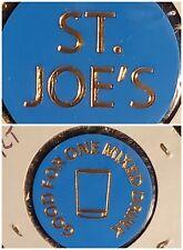 St. Joe's Punxsutawney PA good for 1 mixed drink in trade token♤gft714♧