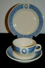 Vintage Hotel Lincoln Blue Room New York City Restaurant Ware Cup & Saucer (A4)