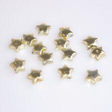 100 Deko Sterne - Streusterne - Sterne - Tischdekoration - Weihnachten - Gold -