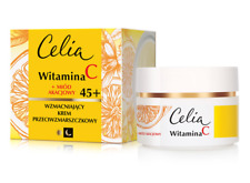 CELIA VITAMIN C + ACACIA HONEY STRENGTHENING ANTIWRINKLE FACE CREAM 45+ D/N