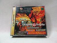Sega Saturn Dungeons Dragons Collection Japan SS