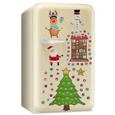 Christmas Magnetic Advent Countdown Calendar Fridge Magnet Santa Snowman Tree