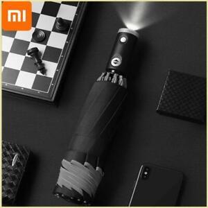 Xiaomi Automatic Non-automatic Umbrella With Reflective Stripe Reverse Led Light
