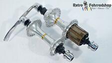 Shimano Deore mt60/mt62 oro comercializarán MTB buje 7 veces 100/135mm año de fabricación 1989 Top