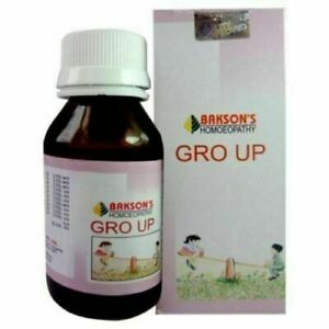 Bakson's Homeopathy Gro Up Drops For Growth Promoter 30 ml
