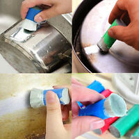 Magic Stainless Steel Rust Remover Cleaning Detergent Stick Metal Wash Brush 1PC
