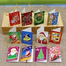 20pcs Christmas cards Hanging Decorations For Christmas Trees Hot Decoration