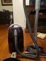 Kenmore 116 Progressive True Hepa Canister Vacuum Cleaner, 12 Amps Burgandy